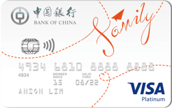 Bank of China Family Card