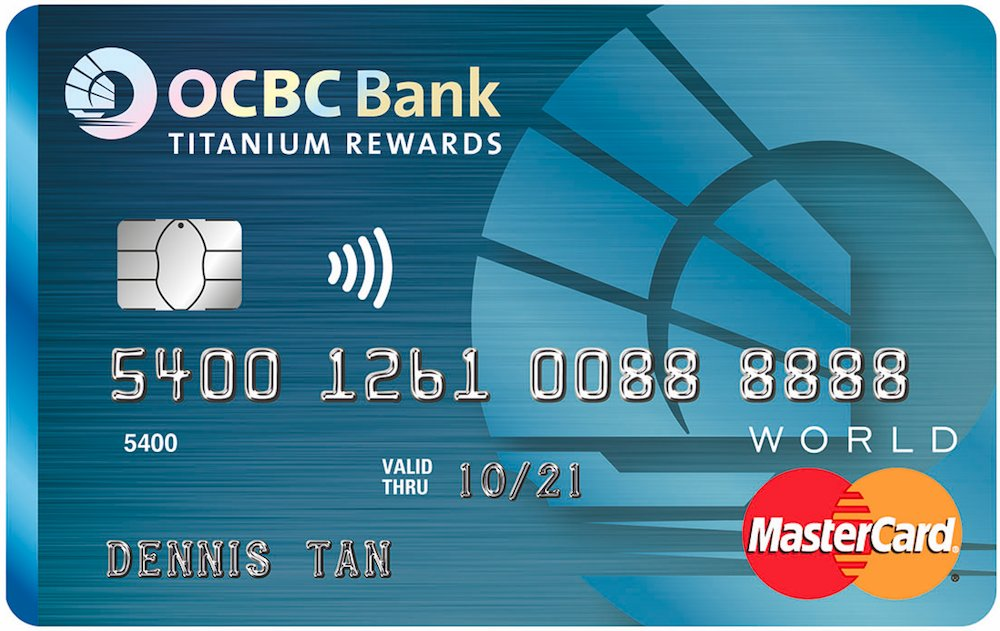OCBC Titanium Rewards Card (Blue)