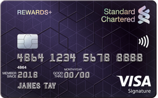 Standard Chartered Rewards+ Credit Card