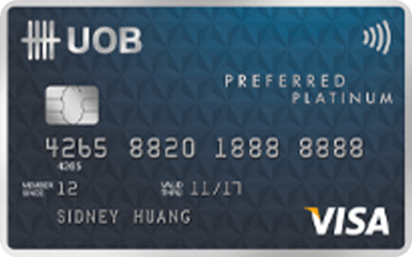 UOB Preferred Platinum Visa Card