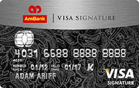 AmBank Visa Signature Card