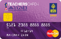 BSN 1 TeachersCard MasterCard Credit Card-i