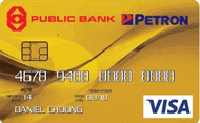Public Bank Petron Visa Gold Credit Card