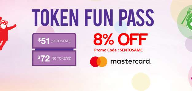 Sentosa Token Fun Pass get 8% off Sentosa Token Fun Pass