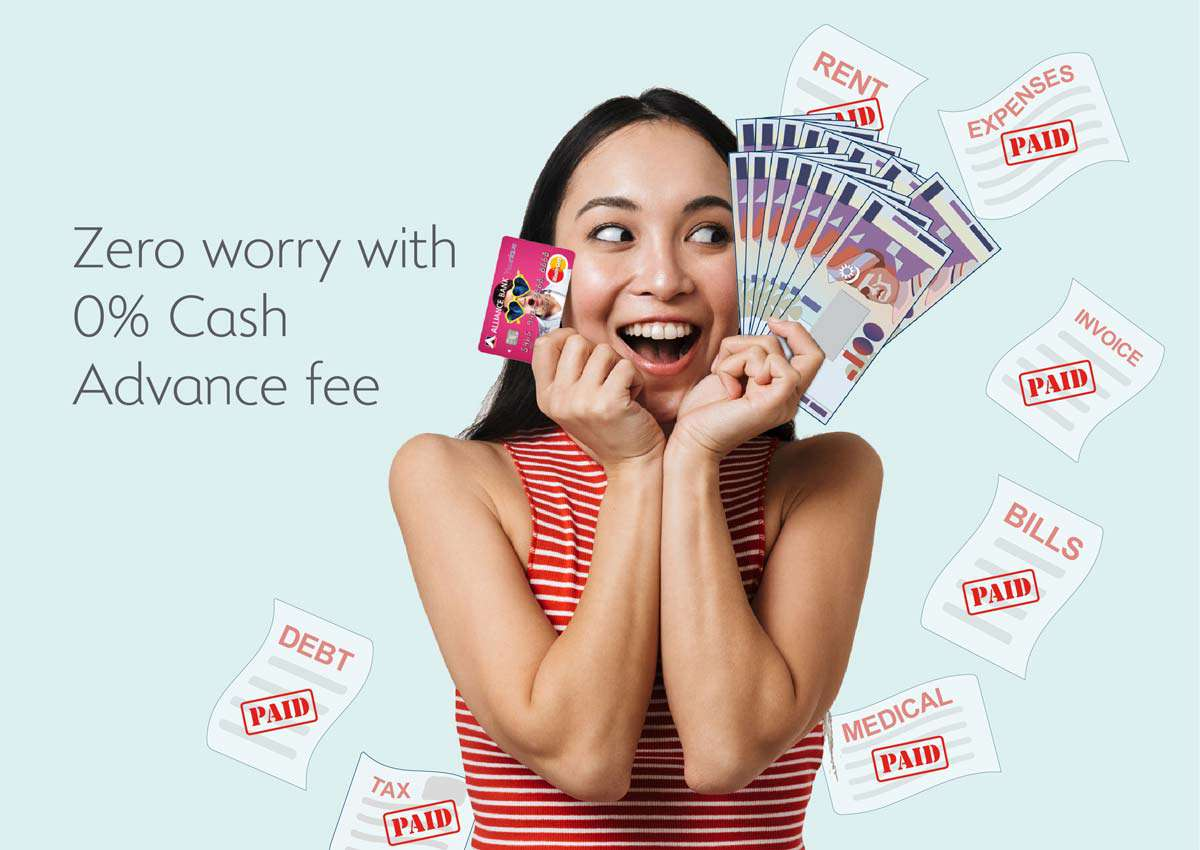 Alliance Bank 0% Local Cash Advance Fee Campaign