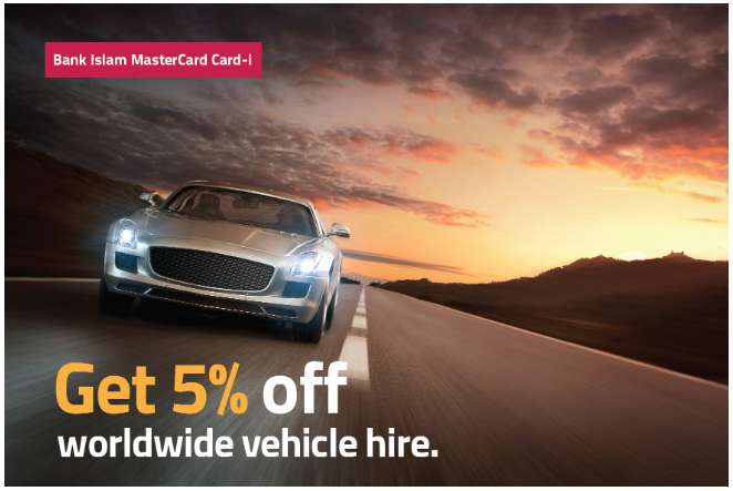 Get 5% off worldwide vehicle hire at Rentalcars.com