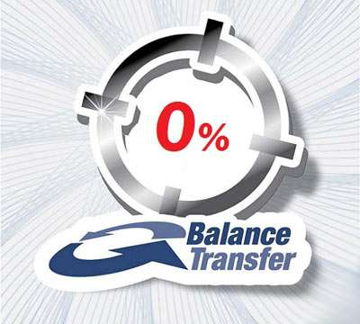 Balance Transfer with your new Credit Card!