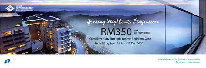 GRAND ION DELEMEN HOTEL Genting Highlands promo with BSN Cards