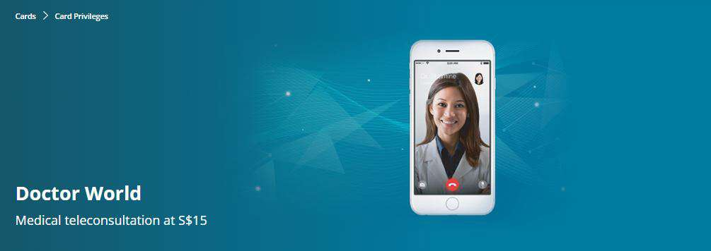 Medical teleconsultation from S$15 with Doctor World