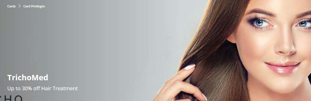 Up to 30% off Hair Treatment at TrichoMed