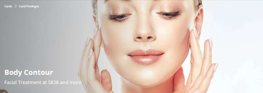 Facial Treatment at S$38 and more from Body Contour