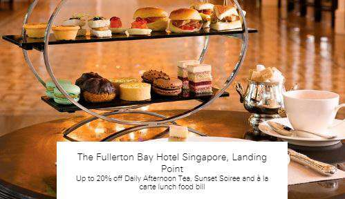 Up to 20% off at The Fullerton Bay Hotel Singapore, Landing Point