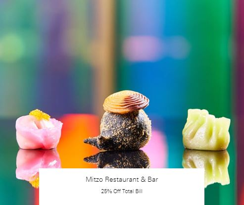 25% Off Total Bill at Mitzo Restaurant & Bar