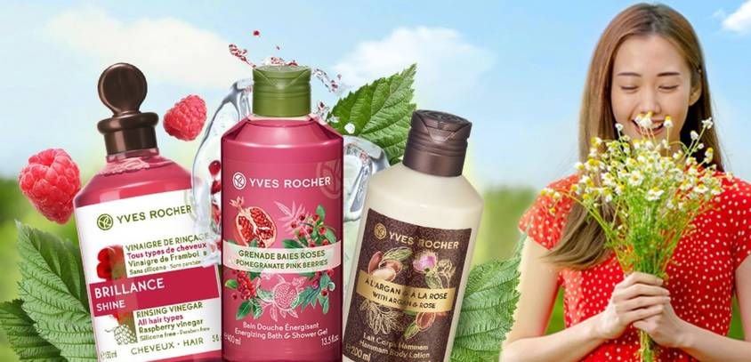 Enjoy 30% OFF* normal priced items with minimum spend of RM180 in a single receipt at Yves Rocher