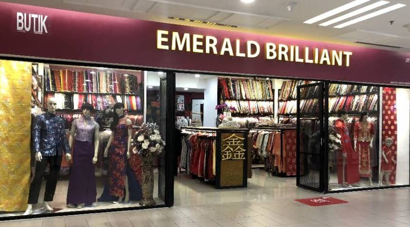 Enjoy 10% OFF* normal priced items at Emerald Brilliant outlets
