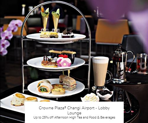 Up to 25% off Afternoon High Tea and Food & Beverages at Lobby Lounge