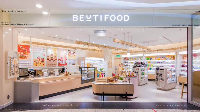 Enjoy 10% OFF* normal priced items at Beutifood Sunway Pyramid