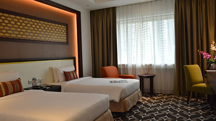 Enjoy 60% OFF* Rack Rate for all categories Corus Hotel Kuala