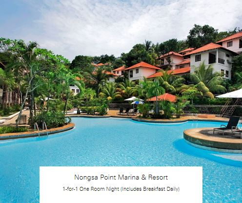 1-for-1 One Room Night (Includes Breakfast Daily) at Nongsan Point Marina & Resort