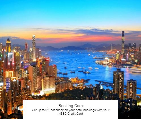 Get up to 6% cashback on your hotel with booking.coms