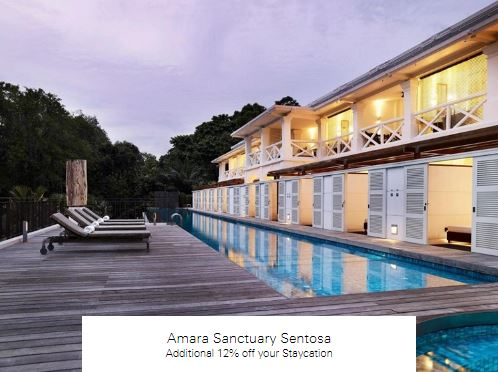 Additional 12% off your Staycation at Amara Sanctuary Sentosa