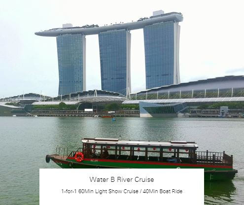 1-for-1 60Min Light Show Cruise / 40Min Boat Ride at Water B River Cruise