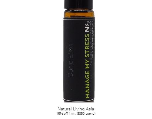 15% off (min. S$50 spend) at Natural Living Asia