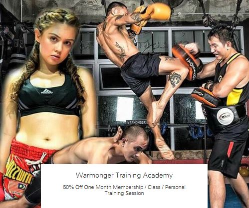 50% Off One Month Membership at Warmonger Training Academy