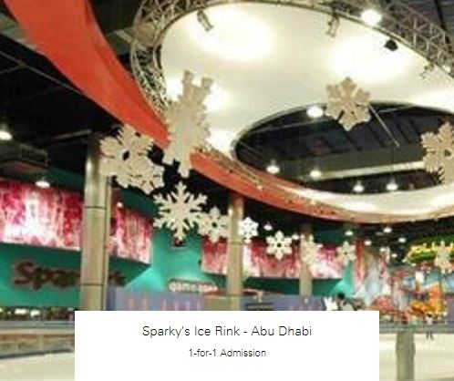 1-for-1 Admission at Sparky's Ice Rink - Abu Dhabi