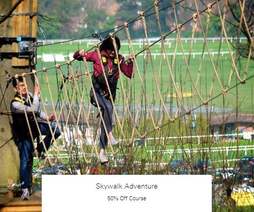 50% Off Course at Skywalk Adventure