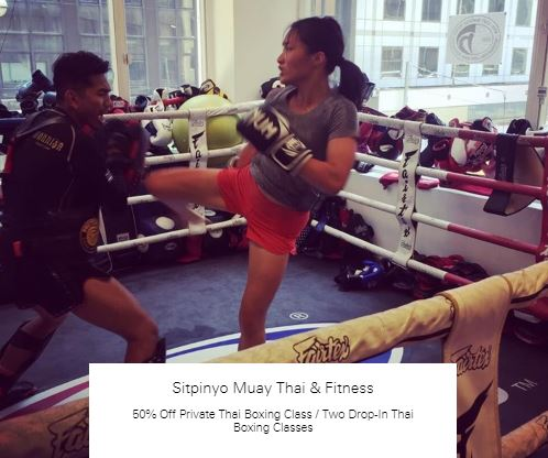 50% Off Private Thai Boxing Class at Sitpinyo Muay Thai & Fitness