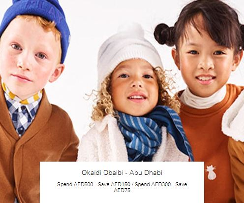 Spend AED500 - Save AED150 at Okaidi Obaibi - Abu Dhabi