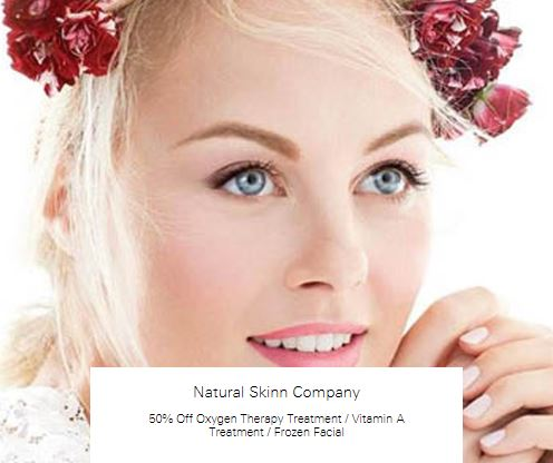 50% Off Oxygen Therapy Treatment at Natural Skinn Company