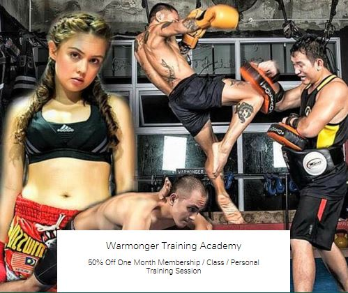 50% off Class at Warmonger Training Academy