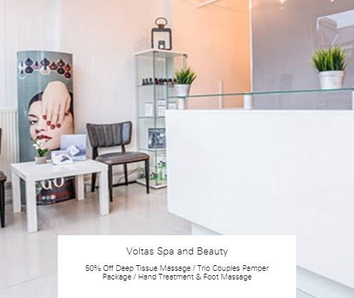 50% off Hand Treatment & Foot Massage at Voltas Spa and Beauty