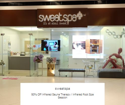 50% off Infrared Foot Spa Session at Sweatspa