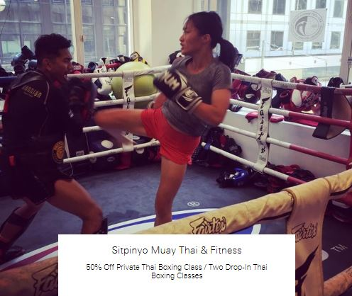 50% Off Two Drop-In Thai Boxing Classes at Sitpinyo Muay Thai & Fitness