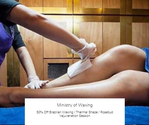 50% off Thermal Shape at Ministry of Waxing