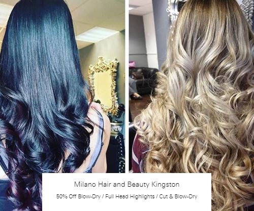 50% off Blow-Dry at Milano Hair and Beauty Kingston