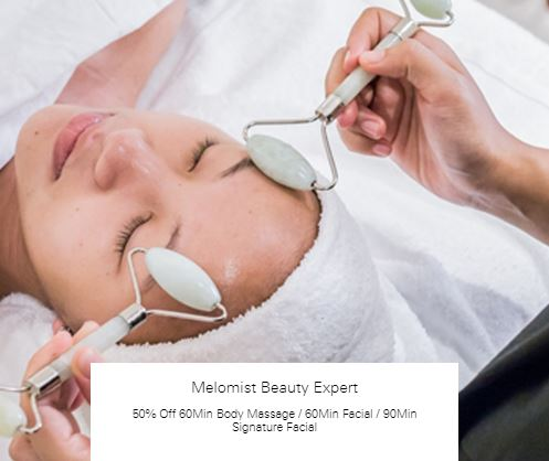 50% Off 60Min Body Massage at Melomist Beauty Expert