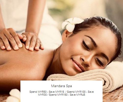 Spend MYR150 - Save MYR45 at Mandara Spa
