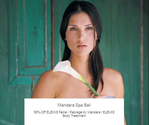 50% Off Package by Mandara at Mandara Spa Bali