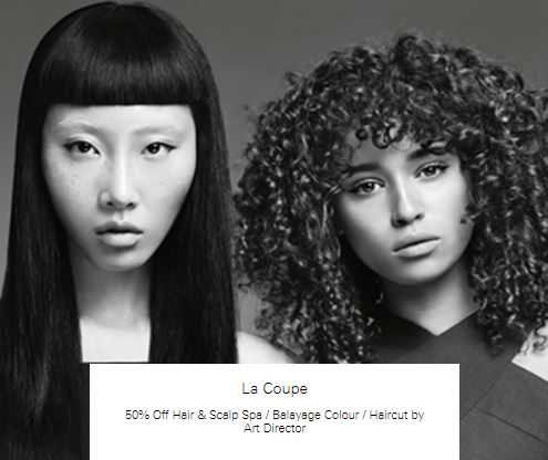 50% off Haircut by Art Director at La Coupe