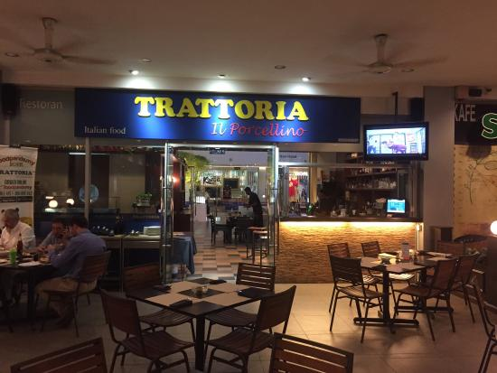 15% OFF total bill with a minimum spend of RM50* at Trattoria II Porcellino