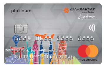 Bank Rakyat Platinum Explorer Card