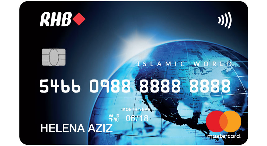 RHB World MasterCard Credit Card-i