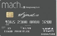 Mach Signature Credit Card