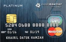 Bank Rakyat Platinum Credit Card