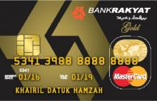 Bank Rakyat Gold Credit Card