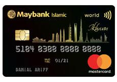 Maybank Islamic World Mastercard Ikhwan Card-i